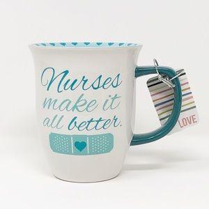 Nurses Make It All Better Bandaid Mug